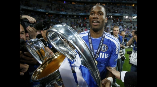 Didier Drogba, Chelsea FC, Champions League
