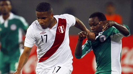 Selección nigeriana, Selección colombiana, Jefferson Farfán, Eliminatorias Brasil 2014, Selección peruana