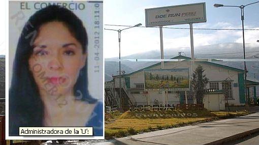Doe Run Perú, Rocío Chávez Pimentel