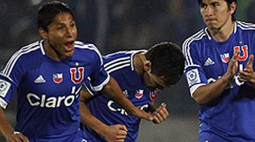 Universidad de Chile, Raúl Ruidíaz, U. de Chile, Selección peruana