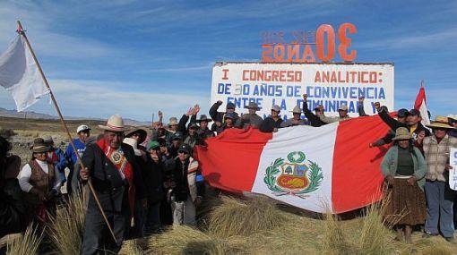 Cusco, Espinar, Protestas antimineras, MInería, Xstrata Tintaya