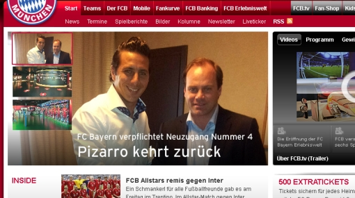 Bayern Múnich sobre fichaje de Claudio Pizarro: