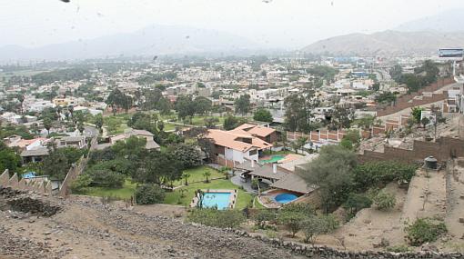 San Juan de Lurigancho, La Molina, Chorrillos, Sismos en el Perú, Puente Piedra, Comas, Villa el Salvador