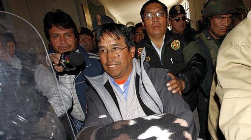 Cusco, Minería, Espinar, Canatur, Protestas antimineras, Policía Nacional del Perú, Xstrata Tintaya, Óscar Mollohuanca