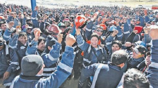 Cusco, Minería, Espinar, Protestas antimineras, Xstrata Tintaya