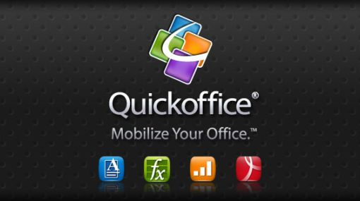 Google compr la aplicacin Quickoffice para dispositivos mviles