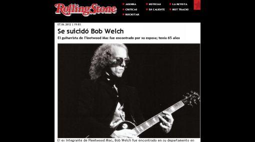 Ex guitarrista de Fleetwood Mac se suicidó