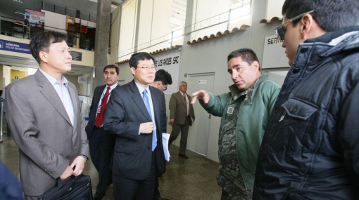 Cnsul de Corea del Sur lleg al Cusco y pidi reforzar bsqueda de helicptero 