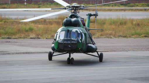 Cusco,  Helicóptero perdido