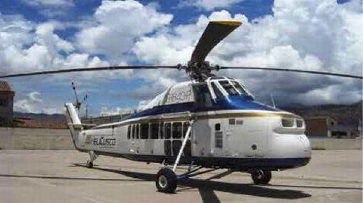 Cusco, Quispicanchi, Helicóptero perdido