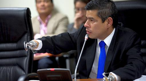 Luis Galarreta, Interceptación telefónica, OCMA, Congreso de la República, Poder Judicial, Caso Rudy Palma,  Carmen Arias