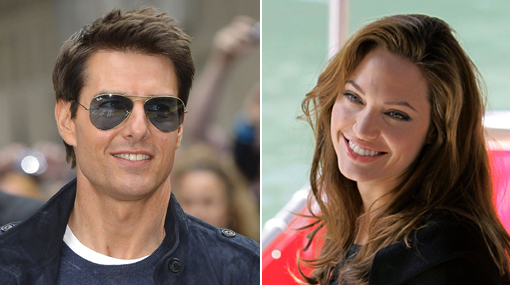 Angelina Jolie y Tom Cruise son los actores que peor besan en Hollywood