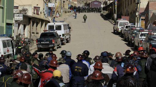 Bolivia, Evo Morales,  Glencore ,  Minera Colquiri