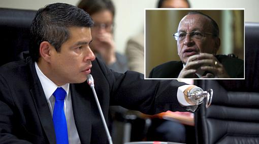 Luis Galarreta, Ministerio Público, Interceptación telefónica, Congreso de la República, José Peláez Bardales