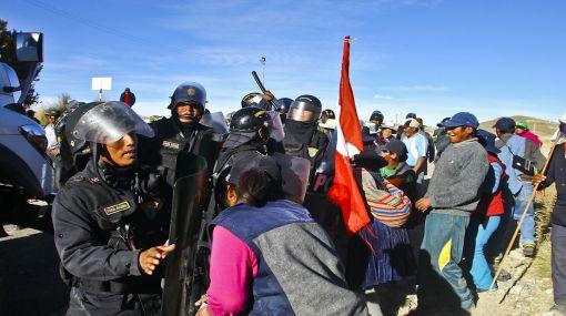 Cusco, Minería, Espinar, Ica, Protestas antimineras, Xstrata Tintaya