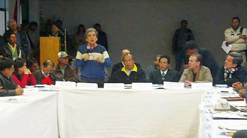Conflictos sociales, Cusco, Minería, Espinar, Protestas antimineras, Xstrata Tintaya