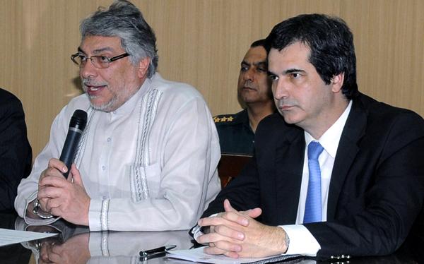 Fernando Lugo, Carlos Filizzola