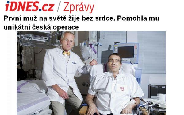 República Checa, Corazón, Ciencia médica, Praga,  Jakub Halik,  Jan Pirk