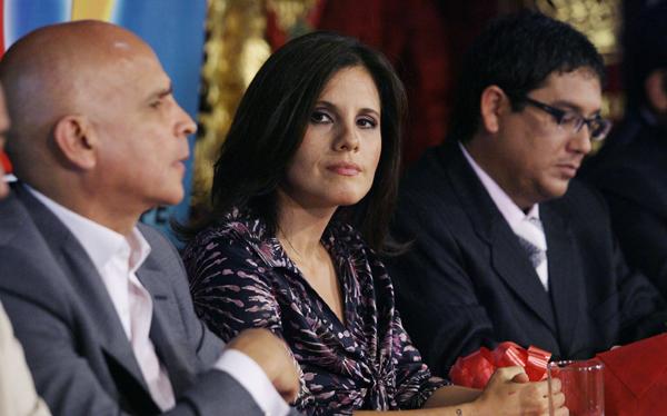 Claudia Cisneros, Jaime Chincha