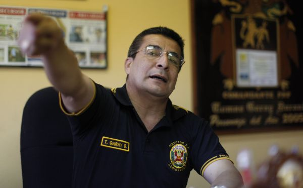 Coronel Toms Garay fue repuesto como director del penal de Lurigancho