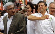 Andrs Manuel Lpez Obrador, Enrique Pea Nieto