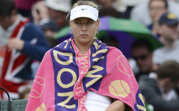 Maria Sharapova, principal favorita, fue eliminada de Wimbledon 