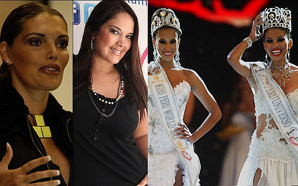 Ex reinas de belleza cuestionaron los resultados del Miss Per 2012