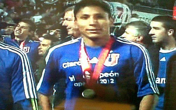 Universidad de Chile, Fútbol chileno, Raúl Ruidíaz, U. de Chile