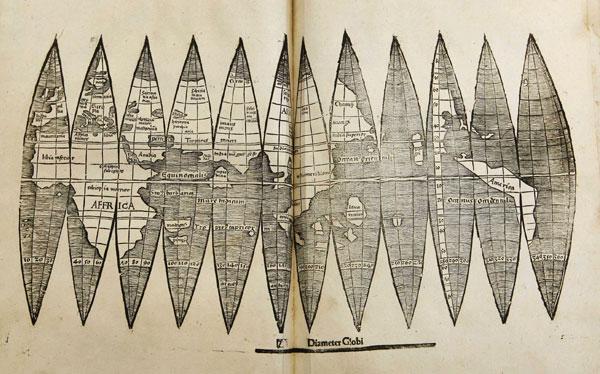 América, Mapas, Descubrimientos,  Cartografía,  Mapamundi,  Martin Waldseemüller