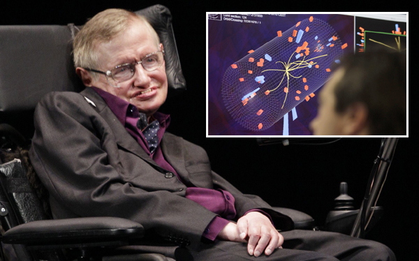 Stephen Hawking pidi el Nobel para Peter Higgs tras evidencia de 'partcula de Dios'