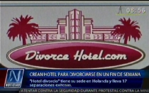 Conoce el primer hotel que garantiza tu divorcio en solo un fin de semana