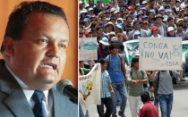 , Jos Urquizo, Conflictos sociales, Cajamarca, Proyecto Conga, Estado de emergencia en Cajamarca,  Celendn