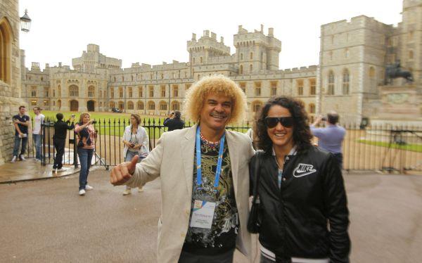 Carlos Valderrama, Kina Malpartida, Londres 2012, Juegos Olímpicos 2012