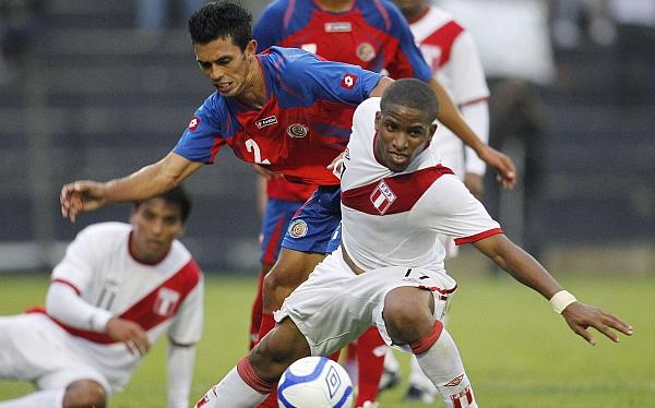 Fútbol peruano, Selección de Costa Rica, Selección peruana