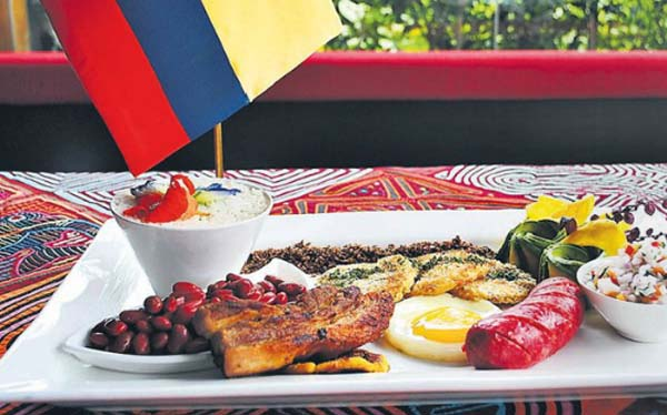El sabor de la libertad: presentan festival de comida colombiana en Lima
