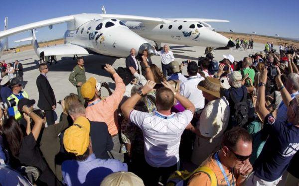 El primer vuelo espacial comercial de Virgin Galactic despegará en el 2013