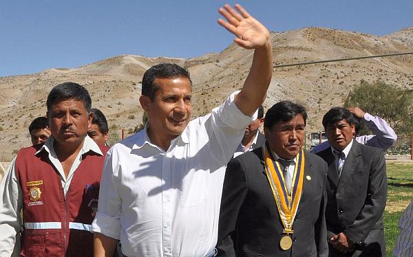 Ollanta Humala, Moquegua, Óscar Valdés Dancuart, Consejo de Ministros Descentralizado, Martín Vizcarra