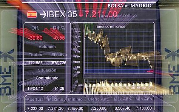 Bolsa de Madrid anot mayor cada del ao tras desplomarse casi 6 puntos