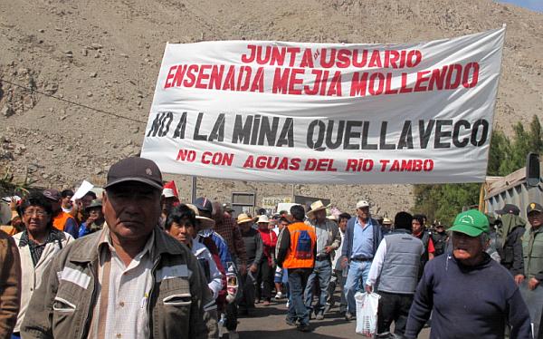 Moquegua, Arequipa, Quellaveco, Proyecto minero Quellaveco