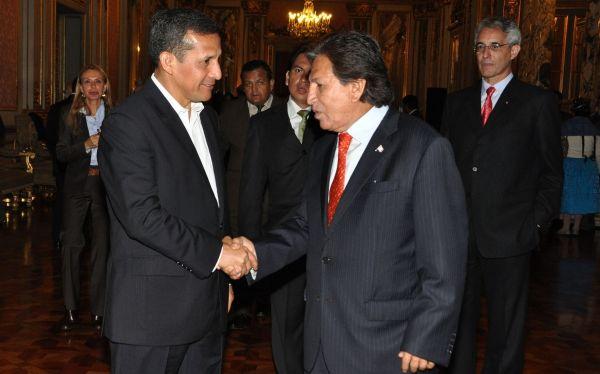 Acción Popular, Perú Posible, Mesa Directiva del Congreso, Gana Perú, Congreso de la República