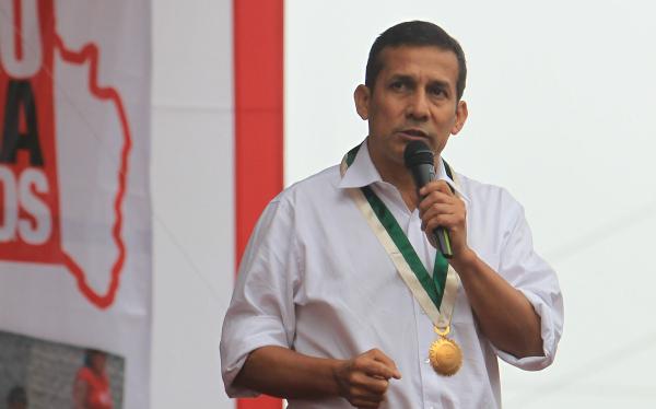 Ollanta Humala,