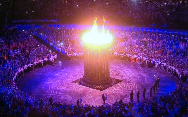 Londres 2012, Juegos Olímpicos, Antorcha olímpica