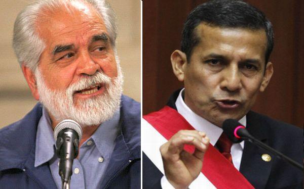 Ollanta Humala, Gastón Garatea