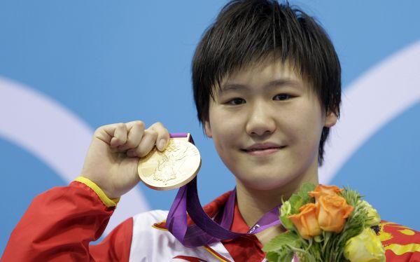 Natación, Londres 2012, Juegos Olímpicos,  Ye Shiwen