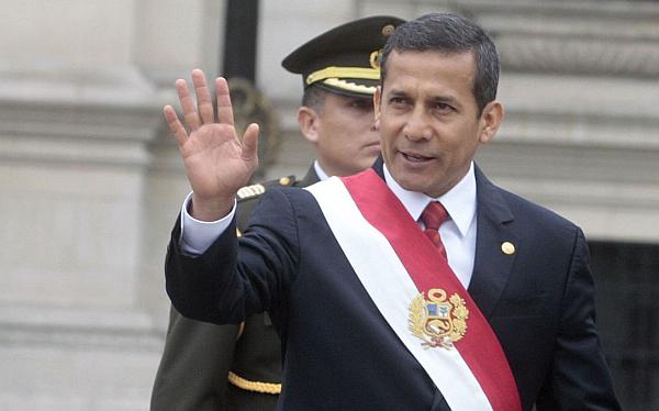 Ollanta Humala, Nadine Heredia, Gran Parada Militar, Fiestas Patrias, Fiestas Patrias 2012