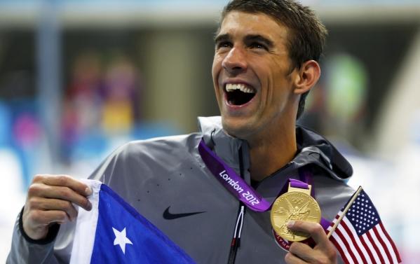 Michael Phelps, Londres 2012, Juegos Olímpicos