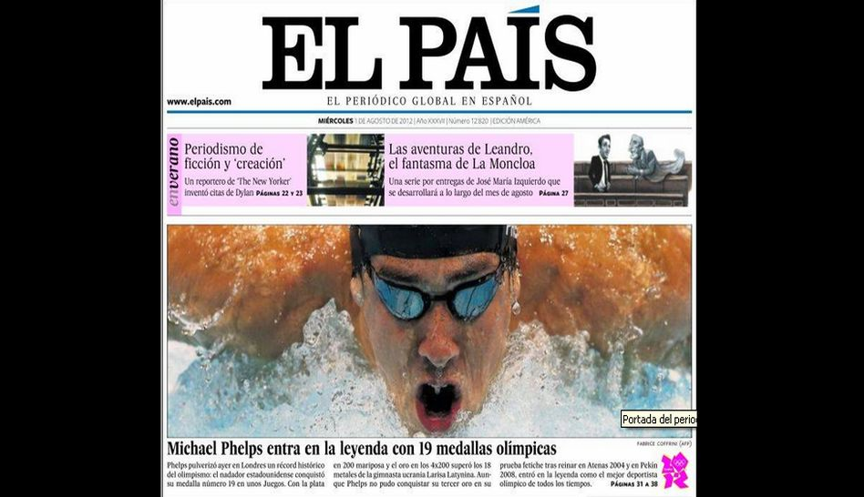 Michael Phelps, Londres 2012
