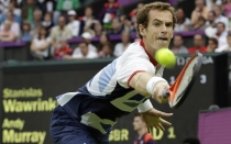 Andy Murray pasó a los octavos de final de Londres 2012