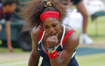 Serena Williams tras conseguir el oro: