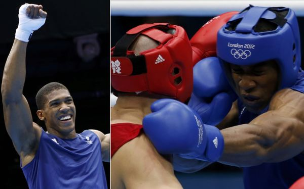 Anthony Joshua es el nuevo campen olmpico de los pesos pesados